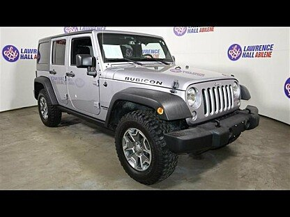 2016 Jeep Wrangler 4WD Unlimited Rubicon for sale 100958758