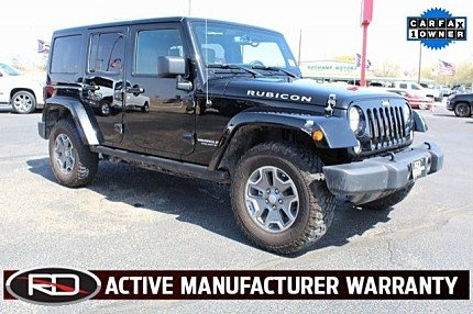2016 Jeep Wrangler 4WD Unlimited Rubicon for sale 100976521