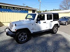 2016 Jeep Wrangler 4WD Unlimited Sahara for sale 100977625