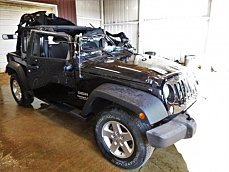 2016 Jeep Wrangler 4WD Unlimited Sport for sale 100982734