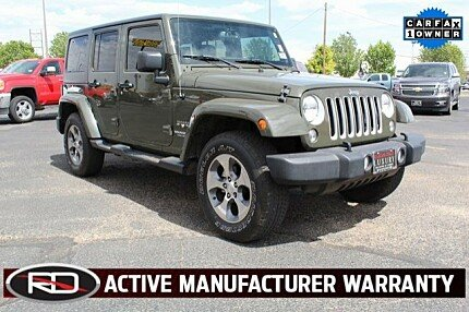 2016 Jeep Wrangler 4WD Unlimited Sahara for sale 100987181
