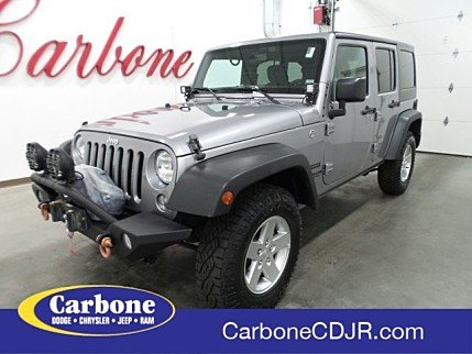 2016 Jeep Wrangler 4WD Unlimited Sport for sale 100989839