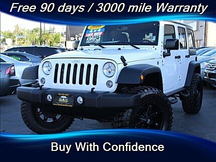 2016 Jeep Wrangler 4WD Unlimited Sport for sale 100998305