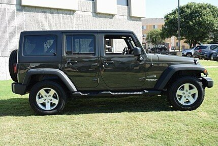 2016 Jeep Wrangler 4WD Unlimited Sport for sale 100998609