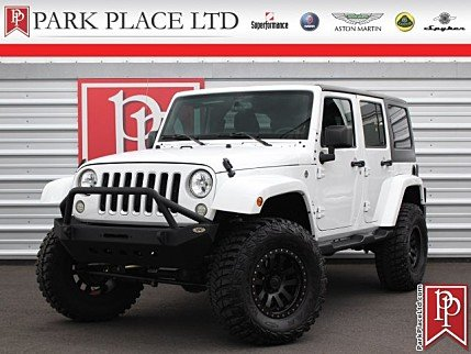 2016 Jeep Wrangler 4WD Unlimited Sahara for sale 101000002