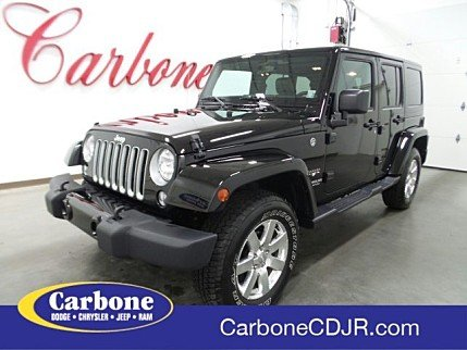 2016 Jeep Wrangler 4WD Unlimited Sahara for sale 101001580