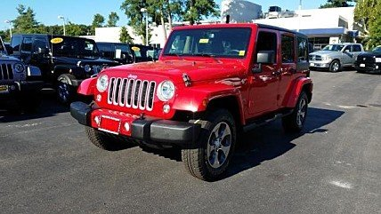 2016 Jeep Wrangler 4WD Unlimited Sahara for sale 101005163
