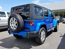 2016 Jeep Wrangler 4WD Unlimited Sahara for sale 101008152