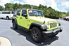 2016 Jeep Wrangler 4WD Unlimited Sport for sale 101009290