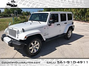 2016 Jeep Wrangler 4WD Unlimited Sahara for sale 101022217