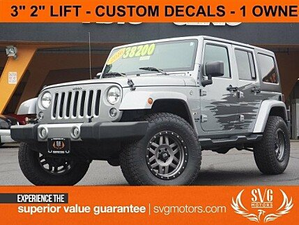 2016 Jeep Wrangler 4WD Unlimited Sahara for sale 101024506