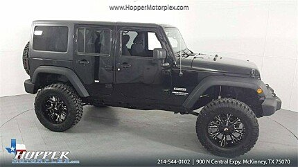 2016 Jeep Wrangler 4WD Unlimited Sport for sale 101025321