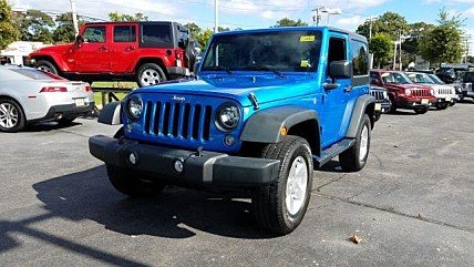 2016 Jeep Wrangler 4WD Sport for sale 101040277
