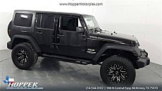 2016 Jeep Wrangler 4WD Unlimited Sport for sale 101047256