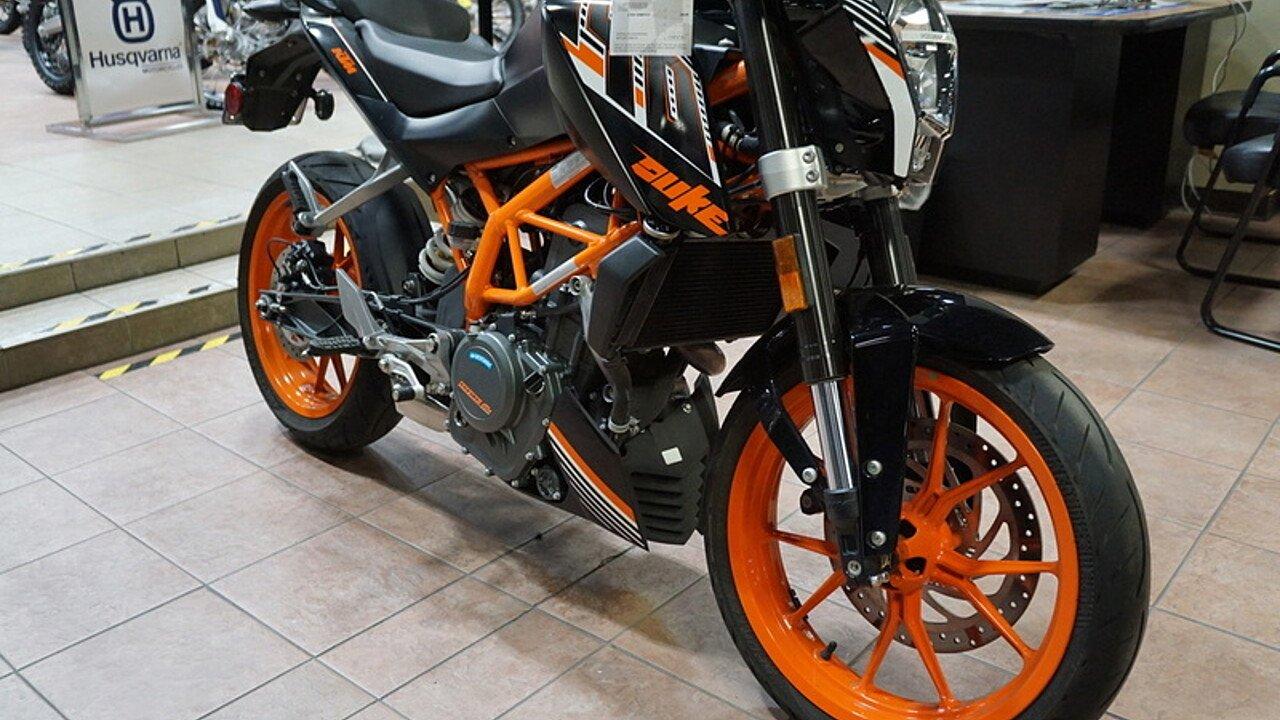 2016 KTM 390 Duke for sale 200525023