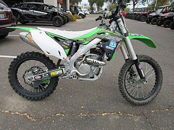 2016 Kawasaki KX250F for sale 200509564