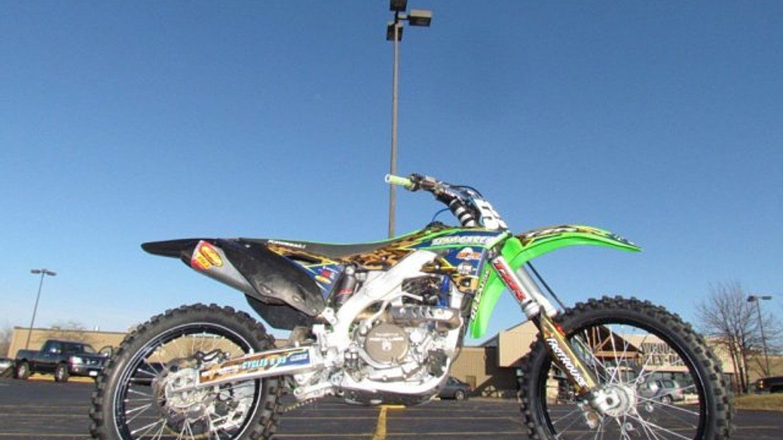 2016 Kawasaki KX250F for sale 200546531