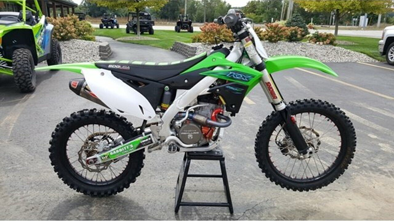 2016 Kawasaki KX250F for sale 200581383