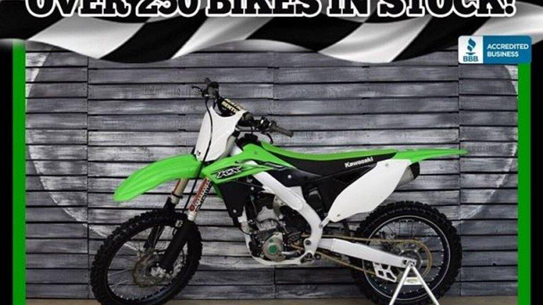 2016 Kawasaki KX250F for sale 200628649