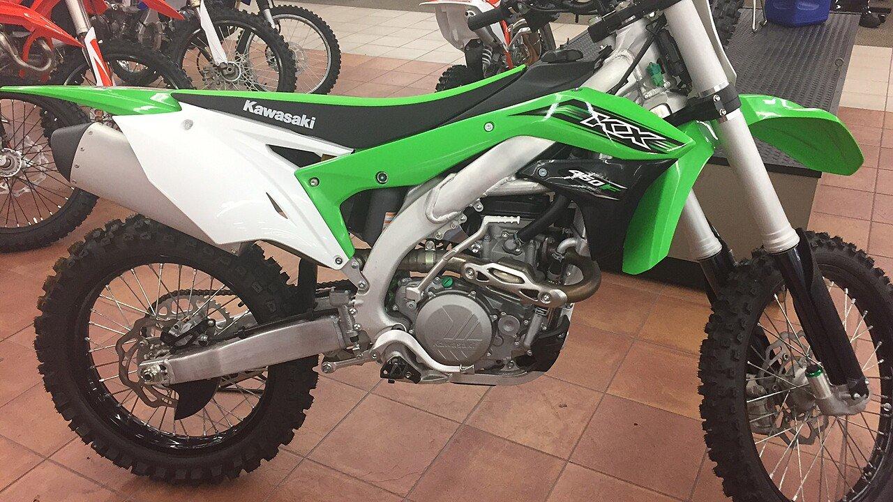 2016 Kawasaki KX450F for sale 200439561