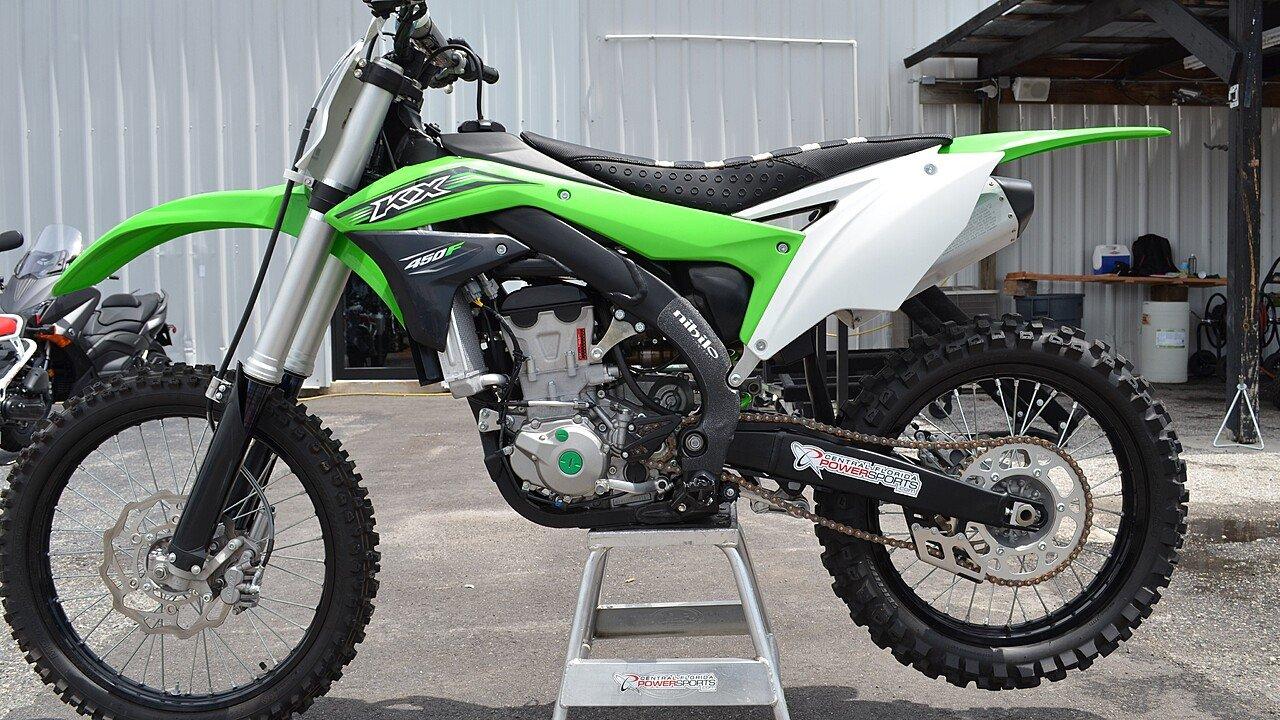 2016 Kawasaki KX450F for sale 200467154