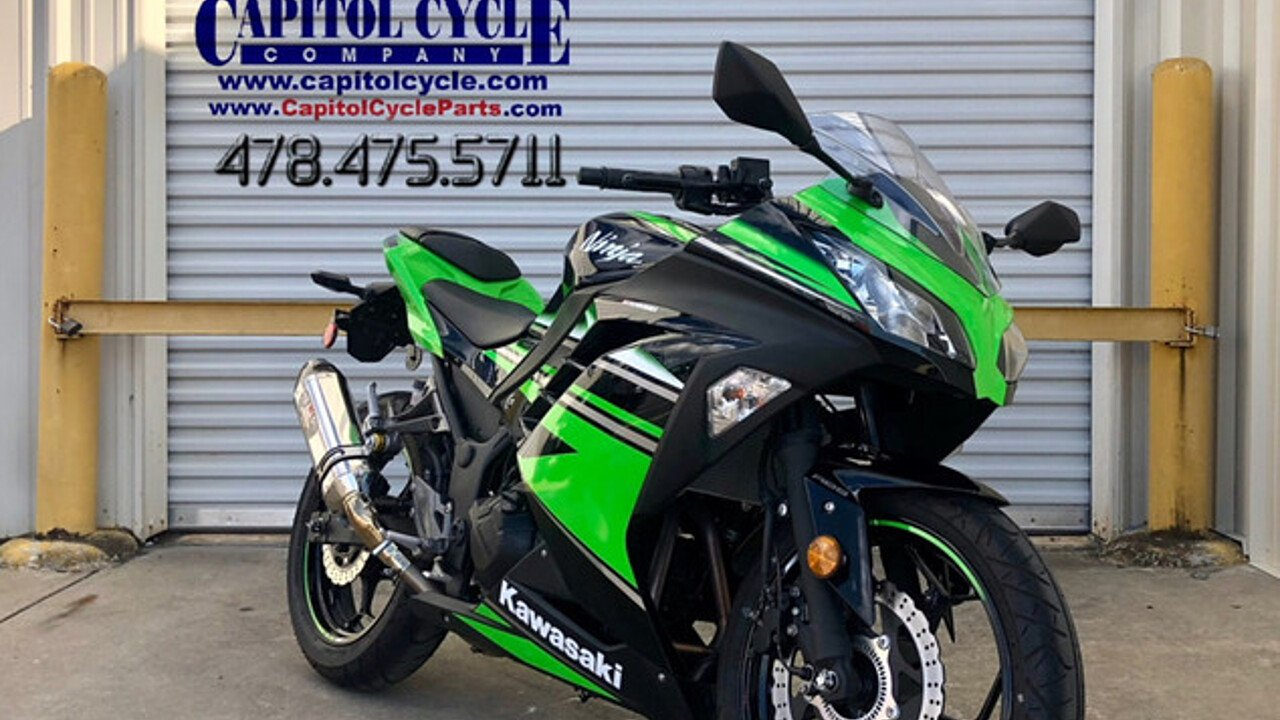 2016 Kawasaki Ninja 300 for sale 200563177