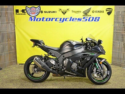 2016 Kawasaki Ninja ZX-10R for sale 200533210