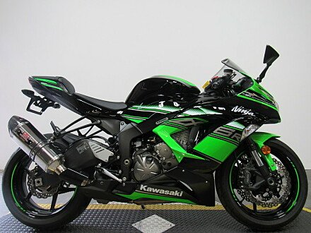 2016 Kawasaki Ninja ZX-6R for sale 200495930