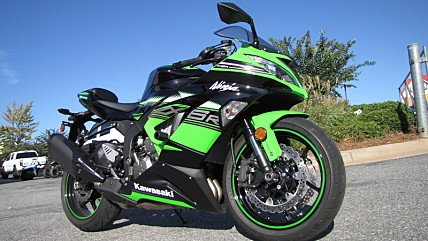 2016 Kawasaki Ninja ZX-6R for sale 200503262
