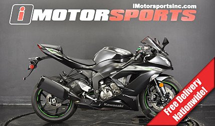 2016 Kawasaki Ninja ZX-6R for sale 200621546