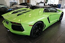 2016 Lamborghini Aventador for sale 100841515