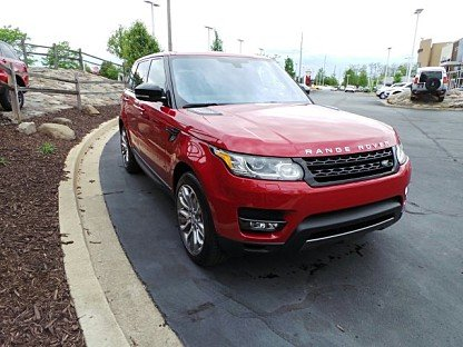 2016 Land Rover Range Rover Sport Supercharged for sale 100760335
