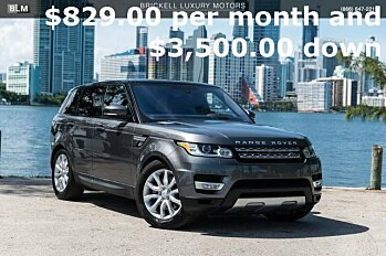 2016 Land Rover Range Rover Sport HSE for sale 100882234