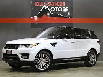 2016 Land Rover Range Rover Sport Supercharged for sale 100885216
