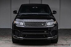 2016 Land Rover Range Rover Sport SVR for sale 100974149