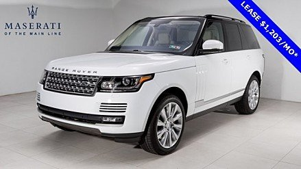 2016 Land Rover Range Rover Supercharged for sale 100858252