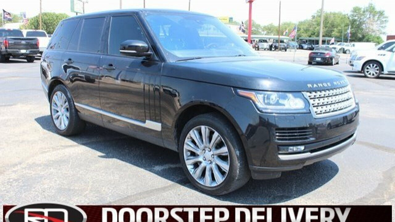 2016 Land Rover Range Rover Supercharged for sale 101008319