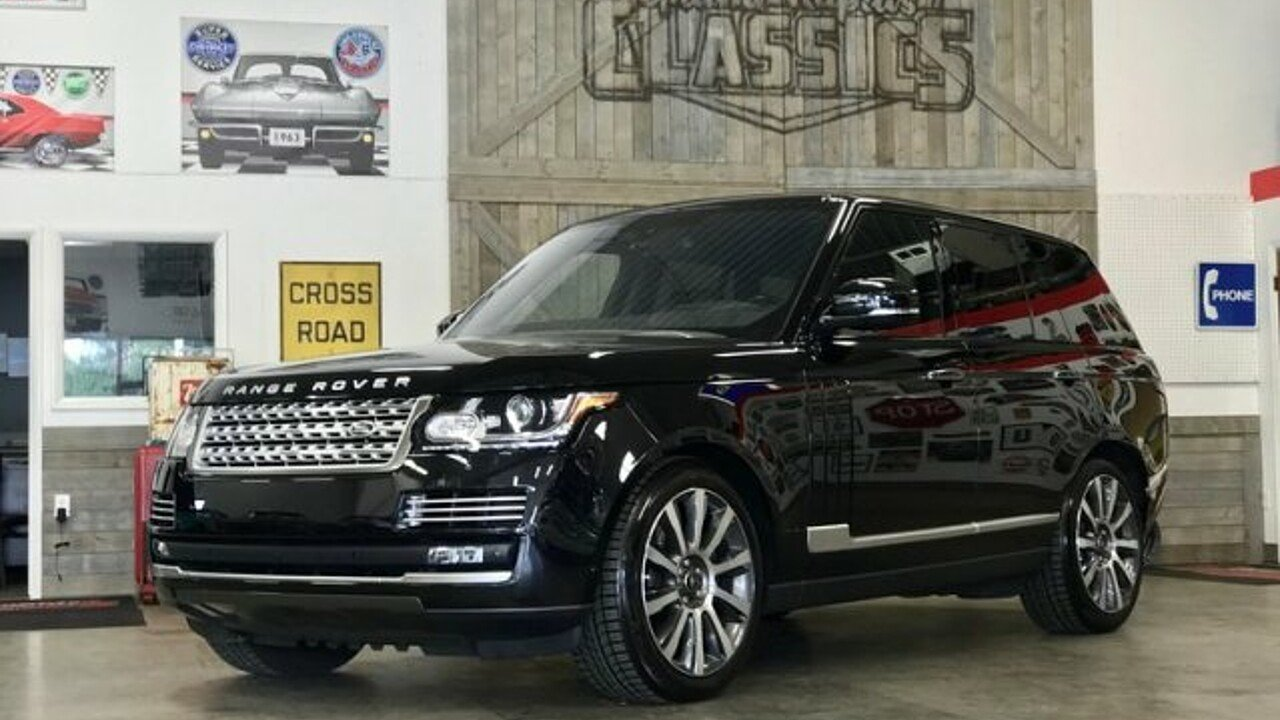 2016 Land Rover Range Rover Autobiography for sale 101009278