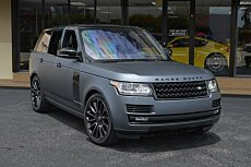 2016 Land Rover Range Rover Supercharged for sale 100789204