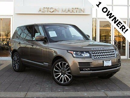 2016 Land Rover Range Rover Supercharged for sale 100854129