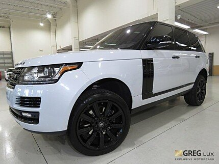 2016 Land Rover Range Rover HSE for sale 100929469