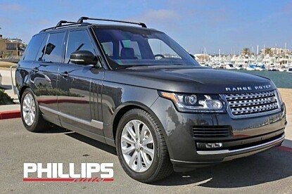 2016 Land Rover Range Rover HSE for sale 100956600