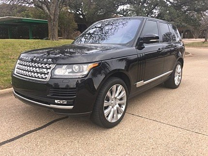 2016 Land Rover Range Rover Supercharged for sale 100957762