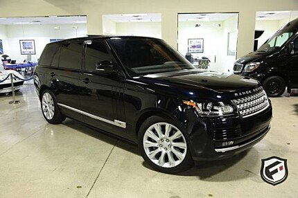 2016 Land Rover Range Rover Long Wheelbase Supercharged for sale 100972828