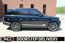 2016 Land Rover Range Rover Supercharged for sale 100978295