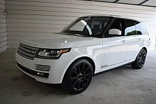 2016 Land Rover Range Rover Supercharged for sale 100992673