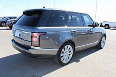 2016 Land Rover Range Rover Supercharged for sale 100993344