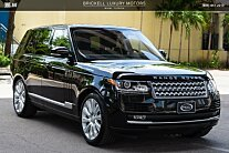 2016 Land Rover Range Rover Supercharged for sale 100998607