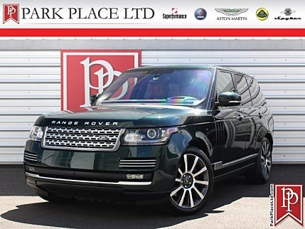 2016 Land Rover Range Rover Autobiography for sale 101002593