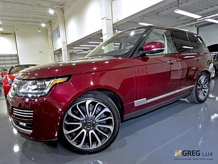 2016 Land Rover Range Rover Autobiography for sale 101034726
